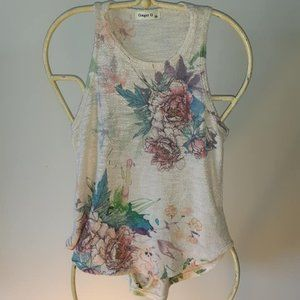 $5 Add-on Ginger G Floral Top, CA Size XS